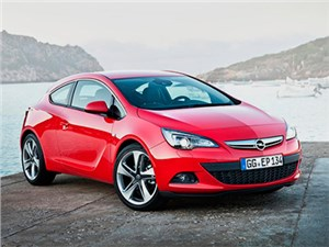 Появилась информация о цене хэтчбека Opel Astra GTC с новым двигателем