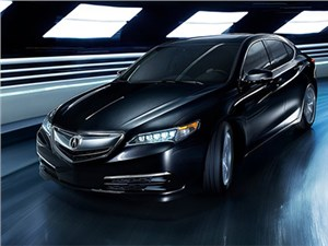 Honda разработала сразу три новых версии седана Acura TLX