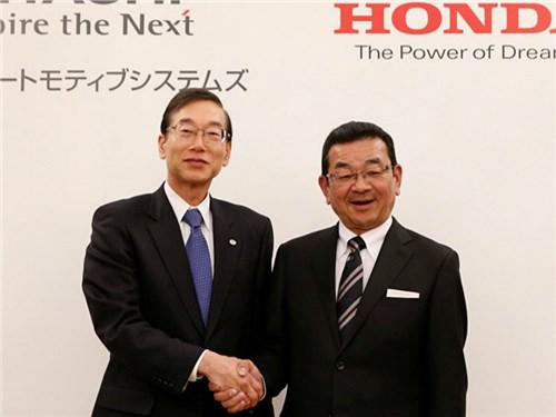 Новость про Honda - Honda и Hitachi планируют новый совместный проект