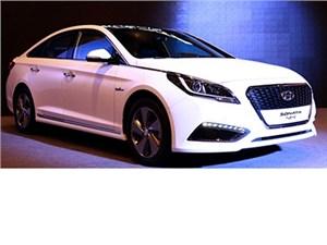 В Сеуле состоялась премьера гибридного седана Hyundai Sonata нового поколения
