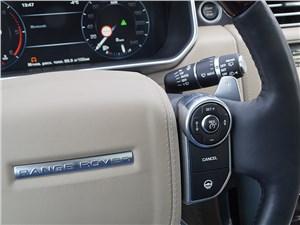 Range Rover LWB 2014 управление системой круиз-контроля