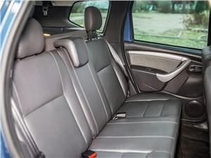 Renault Duster 2013 задний диван