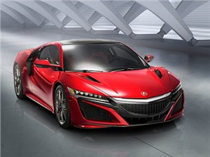 На Международном автосалоне в Женеве дебютировал новый Acura NSX