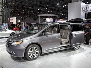 Новость про Honda CR-V - Honda Odyssey 2014