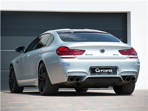 G-Power / BMW M6 Gran Coupe вид сзади