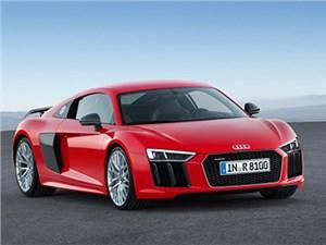 Audi R8 V10 Plus дебютировала в России