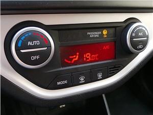 Kia Picanto 2015 управление климатом