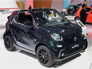 Открытая версия Smart Fortwo дебютировала во Франкфурте