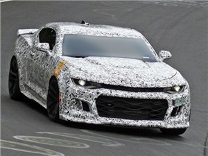 Новость про Chevrolet Camaro - Самая мощная версия Chevrolet Camaro в истории уже проходит испытания на трассе