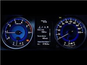 Toyota HiLux 2016 приборная панель