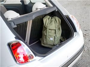 Fiat 500 2011 багажное отделение