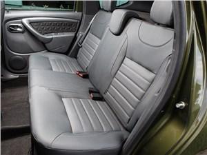 Renault Duster 2015 задний диван
