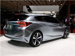 Предпросмотр subaru impreza 5-door concept 2015 вид сбоку сзади