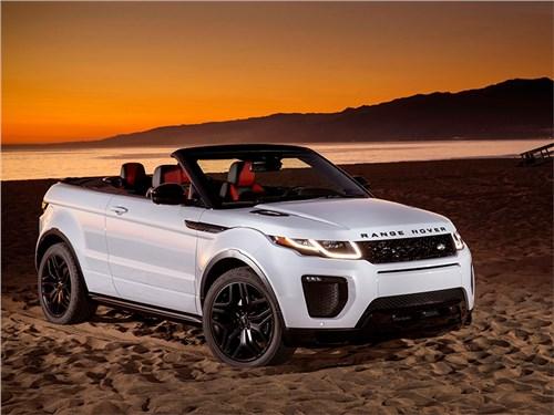 Land Rover начал принимать заказы на кабриолет Evoque в России
