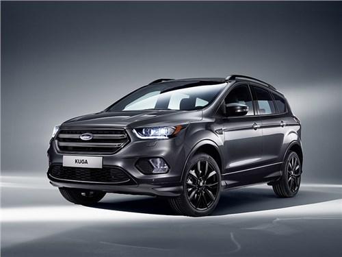 Рестайлинговый Ford Kuga появится на российском рынке в течение года