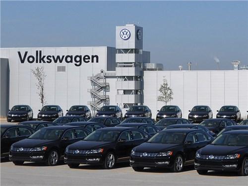 Новость про Volkswagen - Volkswagen AG закончил февраль с 1,2-процентным падением