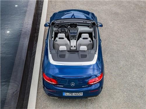 Предпросмотр mercedes-benz c-class cabriolet 2017 вид сзади сверху