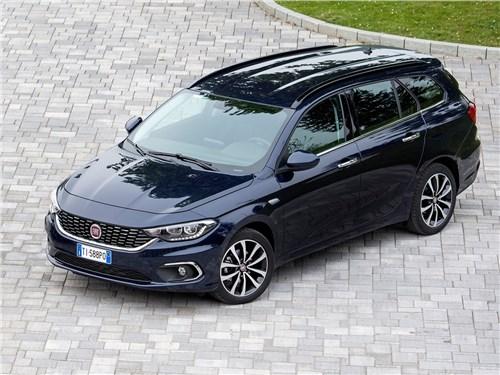 Предпросмотр fiat tipo station wagon 2017 вид спереди сверху