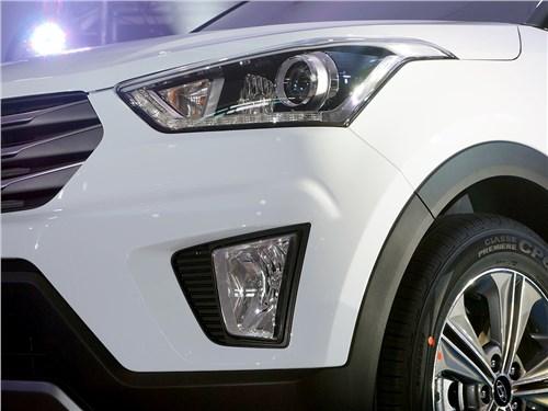 Hyundai Creta - Hyundai Creta 2016 передний свет