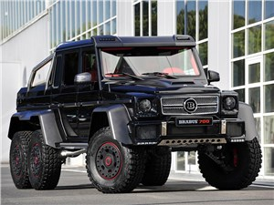 Brabus / Mercedes-Benz G 63 AMG 6x6 вид спереди