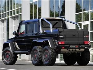 Brabus / Mercedes-Benz G 63 AMG 6x6 вид сзади