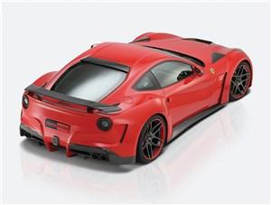 Novitec / Ferrari F12 Berlinetta вид сзади