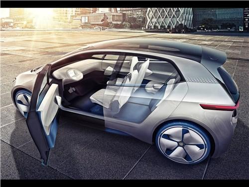 Предпросмотр volkswagen i.d. concept 2016 вид сбоку