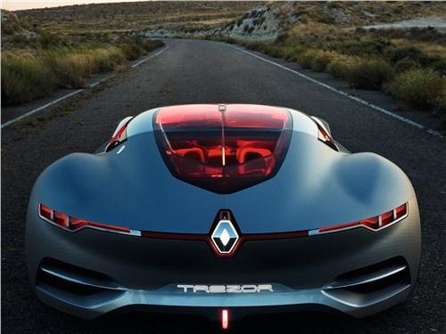 Предпросмотр renault trezor concept 2016 вид сзади