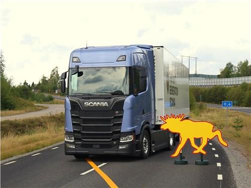 Scania S 2016 проверка системы безопасности