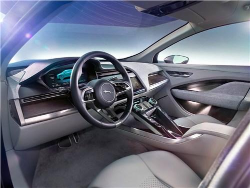 Предпросмотр jaguar i-pace concept 2016 салон