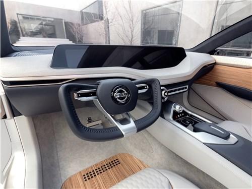Предпросмотр nissan vmotion 2.0 concept 2017 водительское место