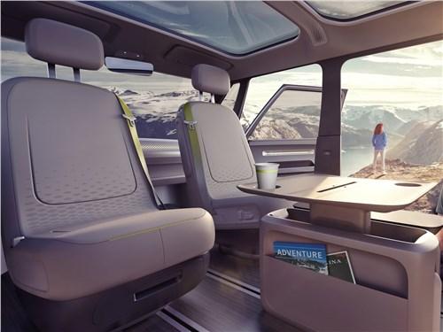 Предпросмотр volkswagen id buzz concept 2017 салон