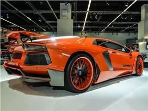 Hamann / Lamborghini Aventador вид сзади