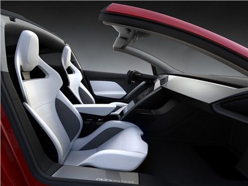 Предпросмотр tesla rodster concept 2020 салон