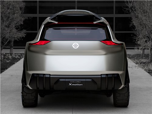 Предпросмотр nissan xmotion concept 2018 вид сзади