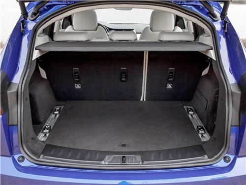 Предпросмотр jaguar e-pace 2018 багажное отделение