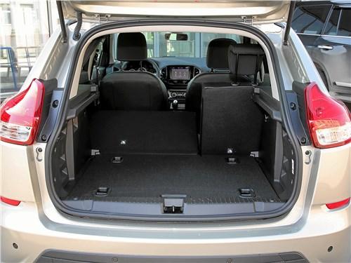 Lada XRay 2018 багажное отделение