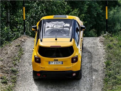 Предпросмотр jeep renegade 2019 вид сверху