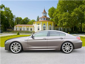 Hartge / BMW 6 Series Gran Coupe вид сбоку