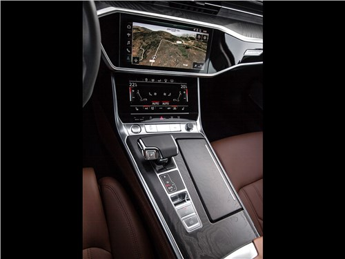 Audi A6 2019 центральный туннель