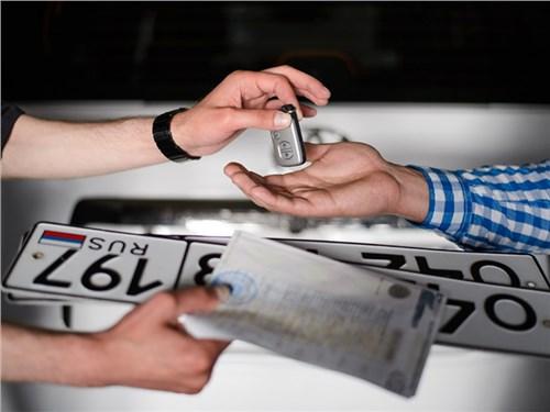 МВД разрешило регистрацию нового автомобиля у дилеров