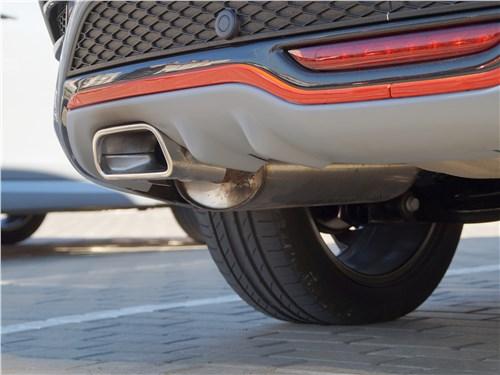Lada Vesta Sport 2019 выхлопная труба