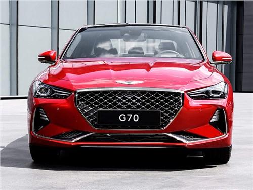 Новость про Hyundai Genesis G70 - Genesis G70 2019