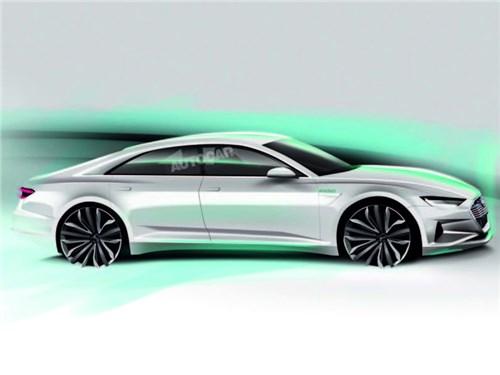 Новость про Audi - AUDI везет в Лос-Анджелес электрический седан