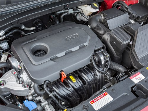Предпросмотр kia sportage gt line 2019 двигатель