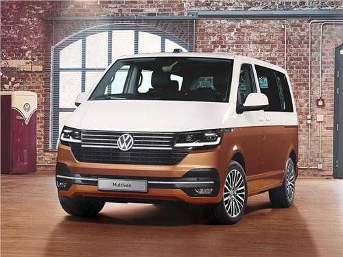 Volkswagen показал обновленный Multivan