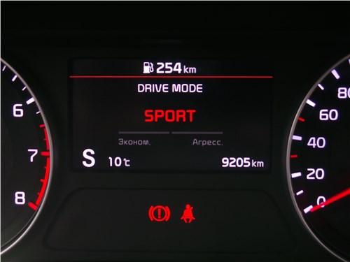 Kia Cerato 2019 приборная панель