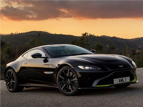 Aston Martin выпустит спорткар Vantage с тремя педалями
