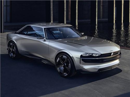 Новость про Peugeot - Peugeot e-Legend Concept 2018