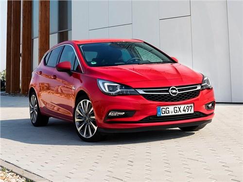 Opel Astra следующего поколения получит электрическую версию